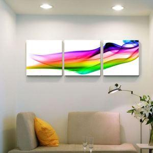 絵画 壁絵画時計 壁掛け時計 静音時計 アートパネル 壁飾り 抽象 3pcs オシャレ