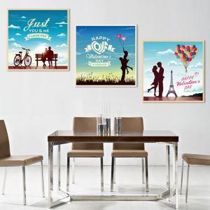 絵画 油彩画 アートパネル 装飾絵画 壁飾り 塔 プレゼント 3pcs オシャレ