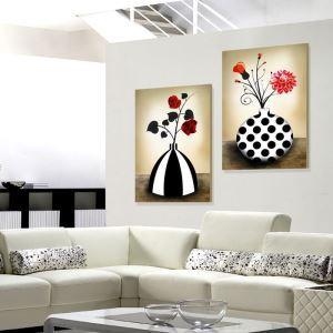絵画 油彩画 アートパネル 装飾絵画 壁飾り 生け花 プレゼント 1pcs オシャレ