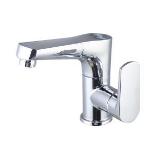洗面蛇口 スプレー混合栓 洗髪用水栓 ホース引出式 水道蛇口 吐水口昇降 2色 H159mm