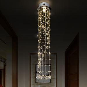 シーリングライト クリスタル照明 リビング照明 吹き抜け照明 玄関照明 D20cm 豪華 オシャレ 1灯