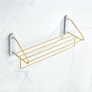 浴室タオルラック タオル掛け タオル収納 壁掛けハンガー 大理石&銅  YSJJ008
