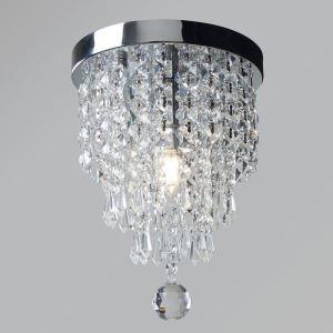シーリングライト ダイニング照明 寝室照明 玄関照明 クリスタル オシャレ1灯