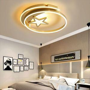 LEDシーリングライト リビング照明 ダイニング照明 子供屋 寝室 居間 星月型 LED対応