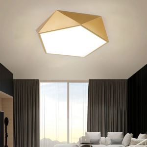 LEDシーリングライト リビング照明 天井照明 ダイニング照明 寝室 居間 幾何型 LED対応