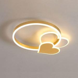 LEDシーリングライト リビング照明 ダイニング照明 子供屋 寝室 居間 ハート型 LED対応
