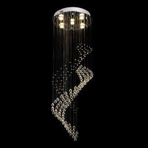 シーリングライト クリスタル照明 リビング照明 吹き抜け照明 天井照明 D40cm 豪華 オシャレ 5灯