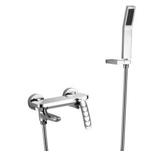 浴室シャワー水栓 バス蛇口 ハンドシャワー 混合水栓 浴槽蛇口 風呂用 3色