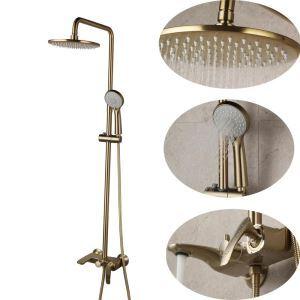 浴室シャワー水栓 シャワーシステム シャワーバー バス水栓 ヘッドシャワー+ハンドシャワー+蛇口 3色