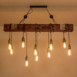 ペンダントライト リビング照明 ダイニング照明 店舗照明 寝室照明 ロフト 工業風 10灯
