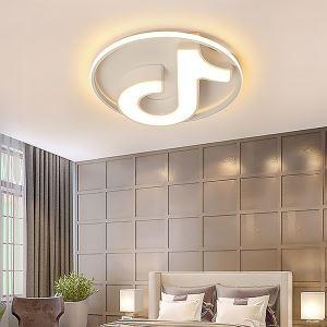 LEDシーリングライト リビング照明 ダイニング照明 寝室照明 天井照明 音符型 LED対応