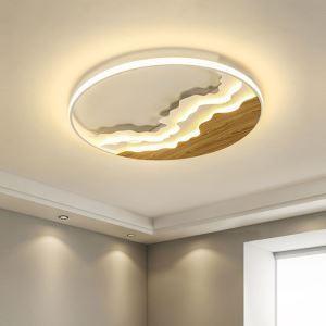 LEDシーリングライト リビング照明 ダイニング照明 天井照明 丸型 波柄 LED対応