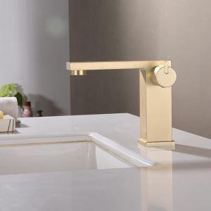 洗面水栓 バス蛇口 冷熱混合栓 立水栓 水道蛇口 手洗器水栓 3色 H147mm