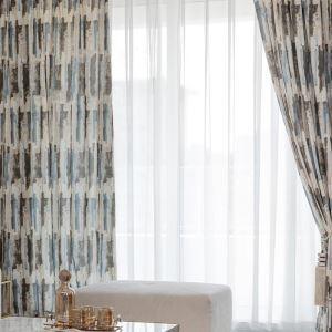 遮光カーテン オーダーカーテン リビング 捺染 北欧風 オシャレ(1枚)