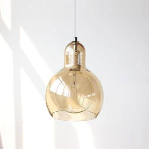 ペンダントライト 照明器具 リビング照明 店舗照明 玄関照明 ガラス製 オシャレ 1灯 3色 ヒョウタン型