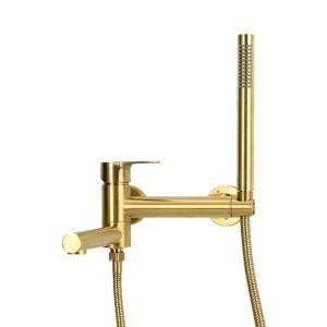 浴槽水栓 浴室水栓 シャワー混合水栓 ハンドシャワー付 スプレーガン機能付 水道蛇口 3色