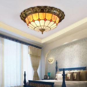シーリングライト ステンドグラスランプ リビング照明 ダイニング照明 寝室照明 3灯/4灯