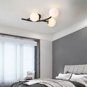 シーリングライト リビング照明 ダイニング照明 寝室照明 枝型 2色