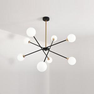 LEDペンダントライト リビング照明 ダイニング照明 寝室照明 北欧風 魔豆型 2色 6/8灯