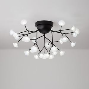LEDシーリングライト リビング照明 ダイニング照明 寝室照明 花型 2色