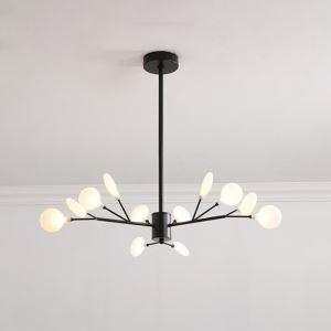 LEDシャンデリア ダイニング照明 リビング照明 寝室照明 枝型 12灯 2色