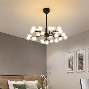 LEDシャンデリア リビング照明 ダイニング照明 寝室照明 枝型 25/30/45灯 2色