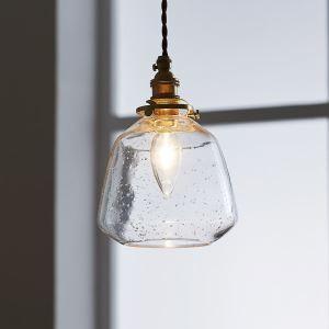 ペンダントライト リビング照明 ダイニング照明 玄関照明 気泡 2色 1灯