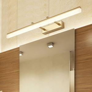 LEDミラーライト 壁掛け照明 ウォールランプ 化粧室ブラケット 180度調整 4色
