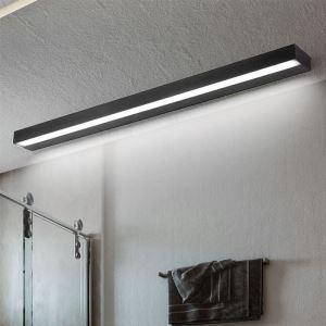 LEDミラーライト 壁掛け照明 ウォールランプ 化粧室ブラケット 長方形 3色