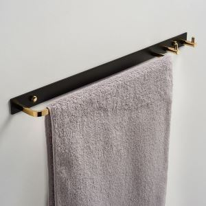 浴室タオルバー タオル掛け タオル収納 壁掛けハンガー バスアクセサリー 2色