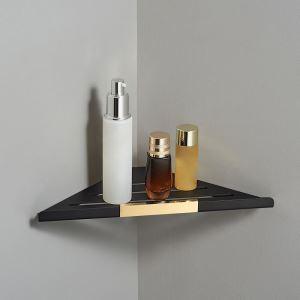 三角形化粧棚 シェルフ バス用品 浴室棚 バスアクセサリー