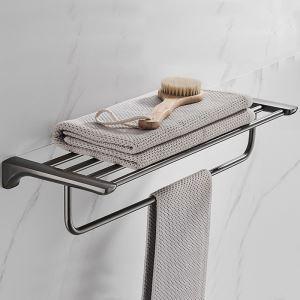 浴室タオルラック タオル掛け タオル収納 壁掛けハンガー ステンレス鋼 ガングレー