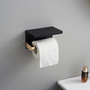 トイレットペーパーホルダー 紙巻器 トイレ用品 ペーパー収納 バスアクセサリー