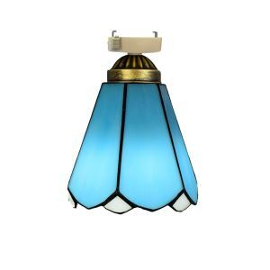 シーリングライト ステンドグラスランプ 玄関照明 ダイニング照明 簡単取付 D15cm 1灯 OFC1010