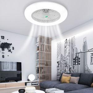 LEDシーリングファンライト ダイニング照明 リビング照明 寝室照明 3階段調色 3段階風量 リモコン付 40W