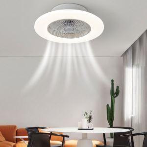 LEDシーリングファンライト リビング照明 ダイニング照明 寝室照明 3階段調色 3段階風量 リモコン付 薄型 48W