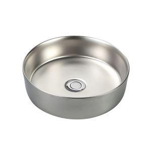手洗い鉢 洗面ボウル 手洗器 洗面ボール 陶器 電気メッキ 排水栓&排水トラップ付 35.5cm