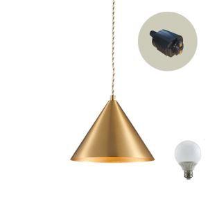 ペンダントライト ダイニング照明 玄関照明 店舗照明 簡単取付 北欧風 LED電球付 1灯
