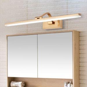 LEDミラーライト 壁掛け照明 ウォールランプ 化粧室ブラケット 180度調整