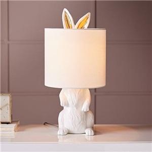 テーブルランプ スタンドライト リビング照明 寝室照明 玄関 書斎 ウサギ型 1灯 A232
