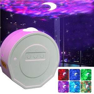 LEDスタープロジェクターライト 投影ランプ スタンドライト Bluetooth接続 RGBW