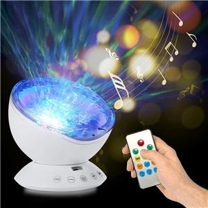 LEDスタープロジェクターライト 投影ランプ スタンドライト タイマー付 リモコン付 Bluetooth接続