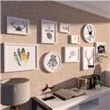 フォトフレーム 写真立て 壁掛け・卓上両用額縁 フォトデコレーション 木製 10個セット
