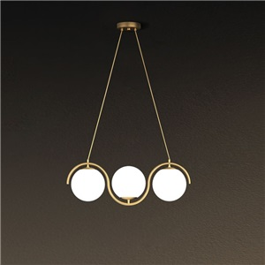LEDペンダントライト ダイニング照明 リビング照明 天井照明 北欧風 魔豆型 3/5/7灯