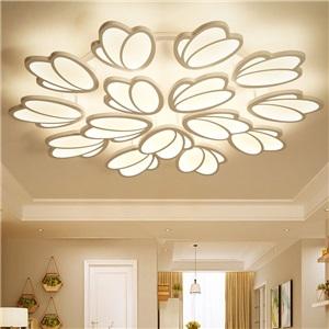 LEDシーリングライト リビング照明 ダイニング照明 寝室照明 天井照明 鬱金香型 LED対応