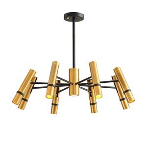 LEDシャンデリア リビング照明 店舗照明 天井照明 金色 北欧風 6/8灯 LED対応