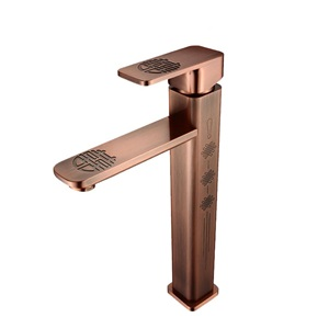 洗面蛇口 バス水栓 冷熱混合栓 手洗器蛇口 水道蛇口 水栓金具 H30.8cm