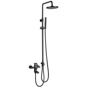 浴室シャワー水栓 シャワーシステム シャワーヘッド+ハンドシャワー+蛇口