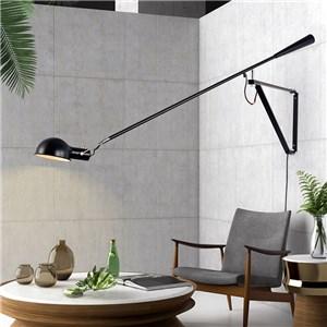 壁掛け照明 ブラケット ウォールランプ 寝室照明 角度調節可 コンセント付 黒白色 1灯