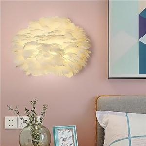 壁掛け照明 ブラケットランプ 子供屋照明 玄関照明 間接照明 羽 1灯